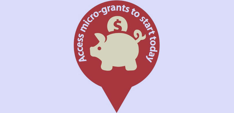 Access micro-grants to start today.