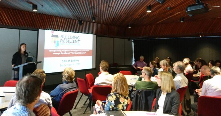 Building Liveable Densities: BRN visits Sydney, Australia