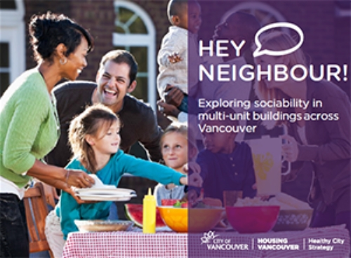 Fostering Community in Multi-unit Housing: BRN joins the Hey Neighbour Collective!