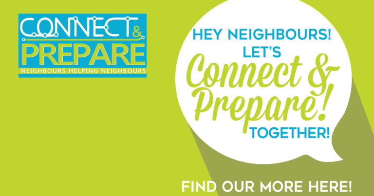 Hey Neighbours! Let's Connect & Prepare Together!